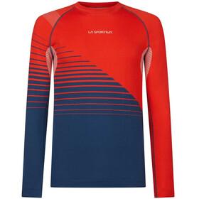 La Sportiva Artic Koszulka z długim rękawem Mężczyźni, poppy/opal